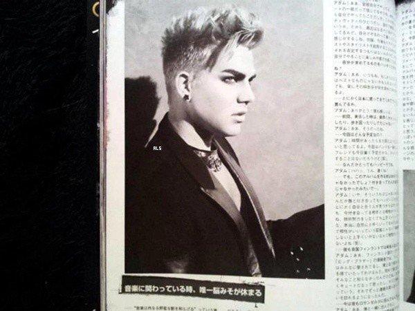 #1535 (SCANS) Photoshoot pour le magazine Inrock (Japon)