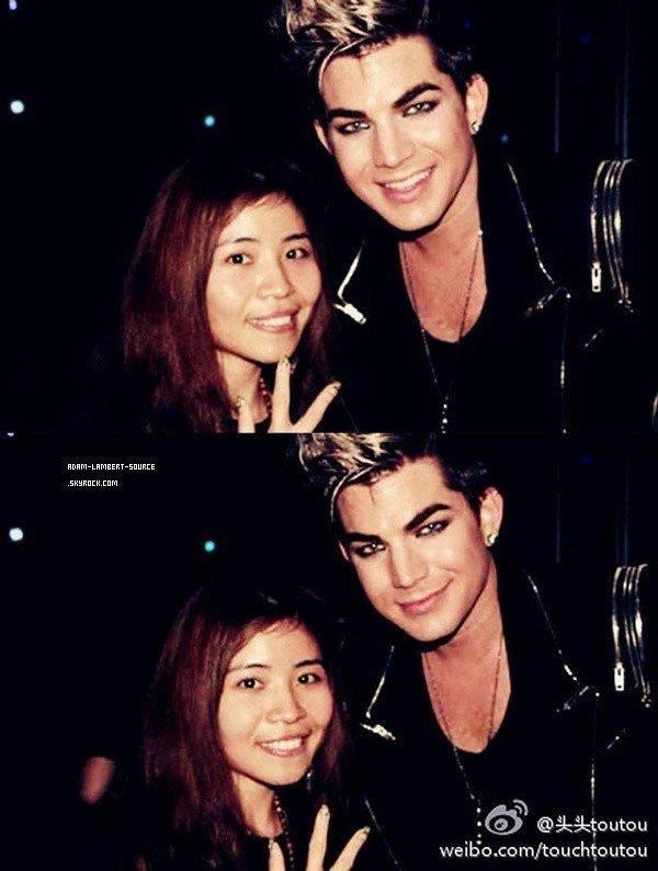 #1569 Nouvelles photos d'Adam avec des fans à Hong Kong.