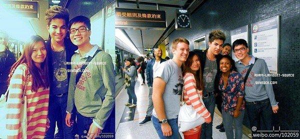 #1571 Adam avec des fans à Hong Kong.