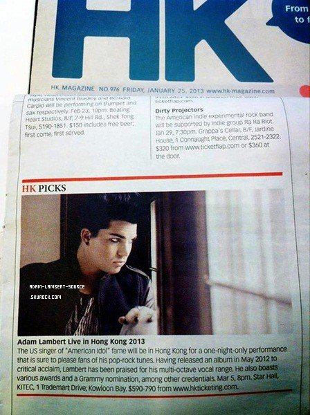 #1605 Magazine, Hong Kong. (25.01.13)