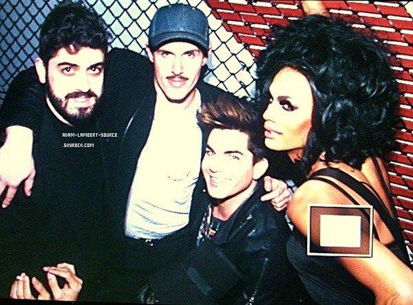#1635 Adam était au The Rage Dream Girls Revue, à Los Angeles. (12.02.13)