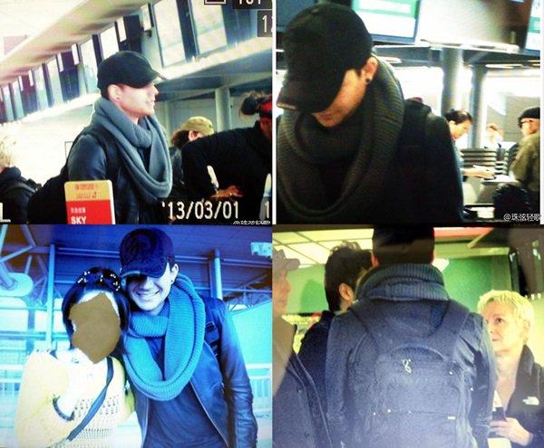 #1658 Adam et la glamily quittant l'aéroport Kansai International, à Osaka. (01.03.13)