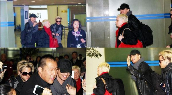 #1659 Adam et la glamily arrivant à Shanghai. (01.03.13)