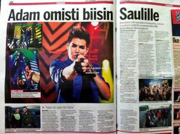 #1672 Journal Iltasanomat, Finlande. (22.03.13)