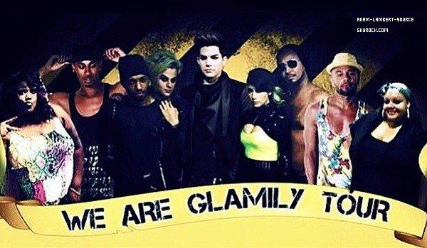 #1673 Tommy a tweeté le 'poster' du We Are Glamily Tour, qui s'est terminé hier..