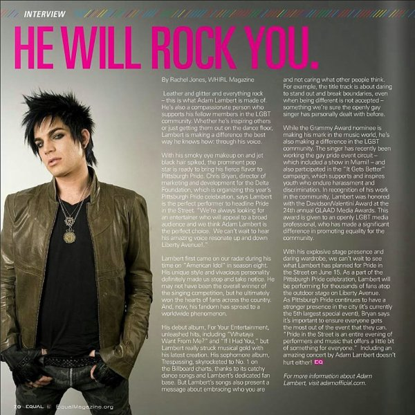#1706 Magazine Equal - Mai/Juin 2013