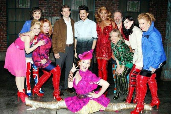 #1720 Adam était au Kinky Boots, à New York. (19.06.13)