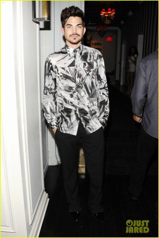 #1721 Adam était à l'after party du The MDNA Tour film, à New York. (18.06.13)