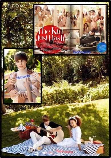 + Justin Bieber : Vanity Fair Février 2011, photos sexy et interview confession ! + la video + Petite News
