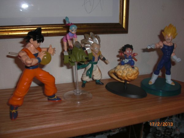 Dragon Ball et DBZ 1