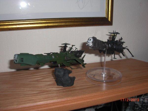 Albator, Arcadia vert et version black