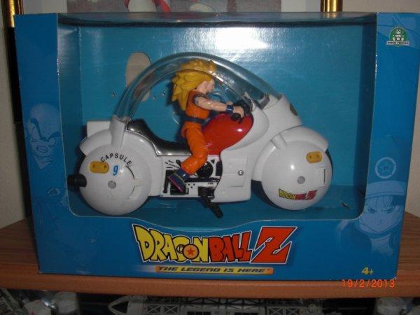 DBZ Moto avec son et lumière
