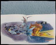 Albator, le corsaire de l'espace - 45 T avec hisoire