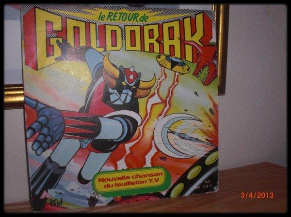 45T, Le retour de Goldorak, 1987, AB production