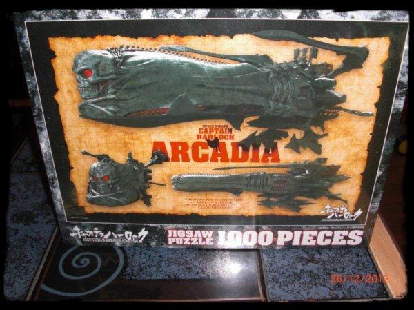 Puzzle du film Albator (Captain Harlock) - Arcadia - 1'000 pièces