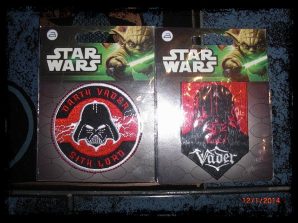 Star Wars, Motif Thermo-collant