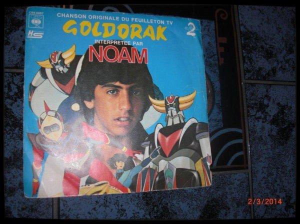 45T, Goldorak Chanté par Noam