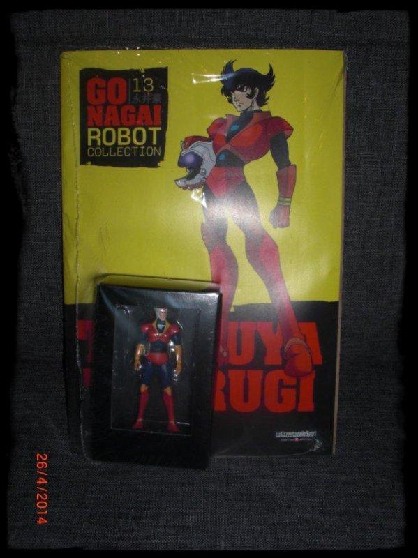 Tetsuya Tsurugi - Go Nagai - Livet avec figurine, No 13