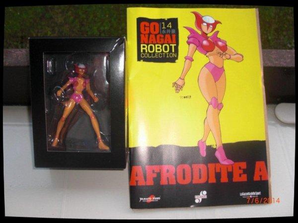 Afrodite A  - Go Nagai - Livet avec figurine, No 14