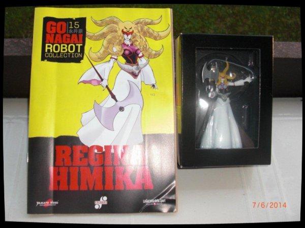 Regina Himika - Go Nagai - Livet avec figurine, No 15