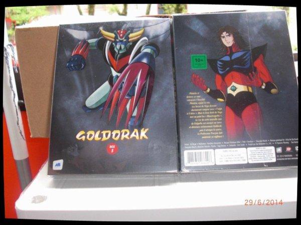 Goldorak, Box 5 - Episodes 50 à 61 / Acheté le 04.06.2014