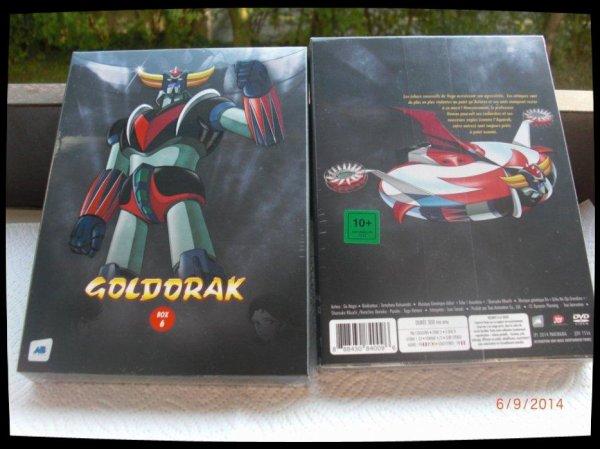 Goldorak, Box 6 - Episodes 62 à 74 / Acheté le 05.09.2014