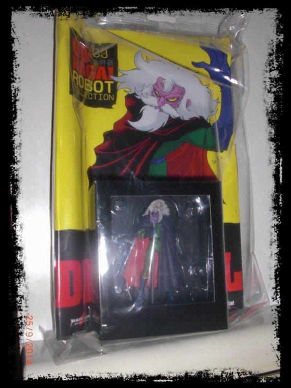 Dottor Inferno (Dr. Hell) - Mazinger Z - Go Nagai - Livet avec figurine, No 33