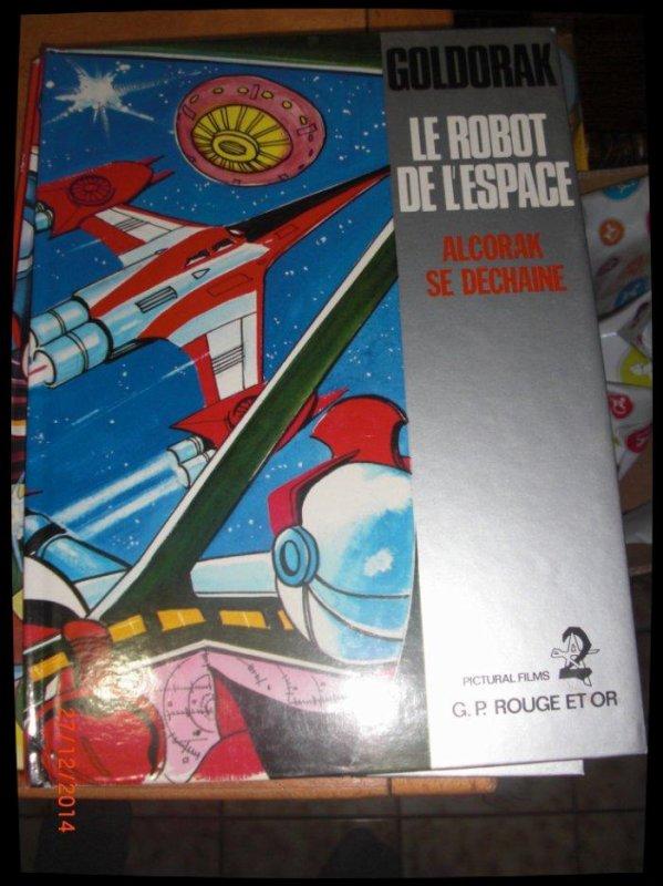 BD, Goldorak, Le robot de l'espace - Alcorak se déchaine