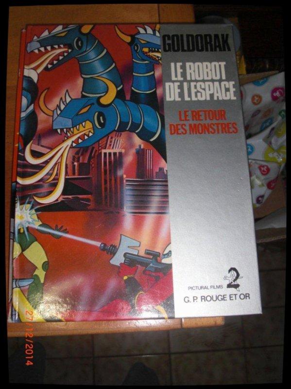 BD, Goldorak, Le robot de l'espace - Le retour des monstres