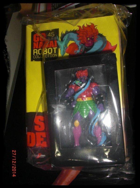 Signore Del Drago - Jeeg - Go Nagai - Livet avec figurine, No 45