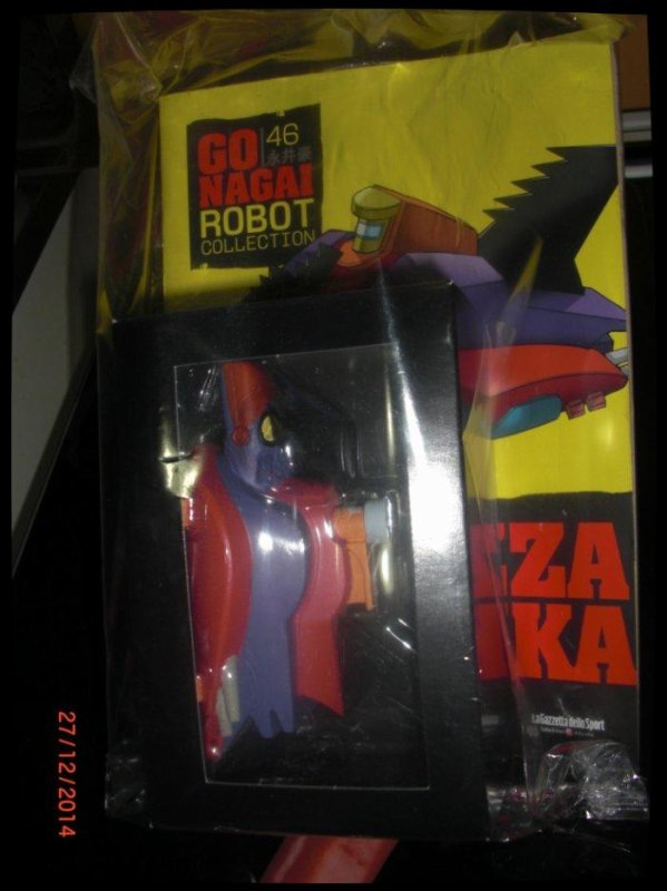Fortezza Demonika - Great Mazinger - Go Nagai - Livet avec figurine, No 46
