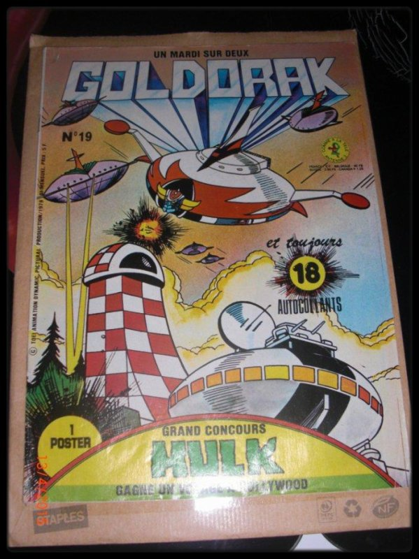 Goldorak - Editions Télé-Guide - Goldorak n°19