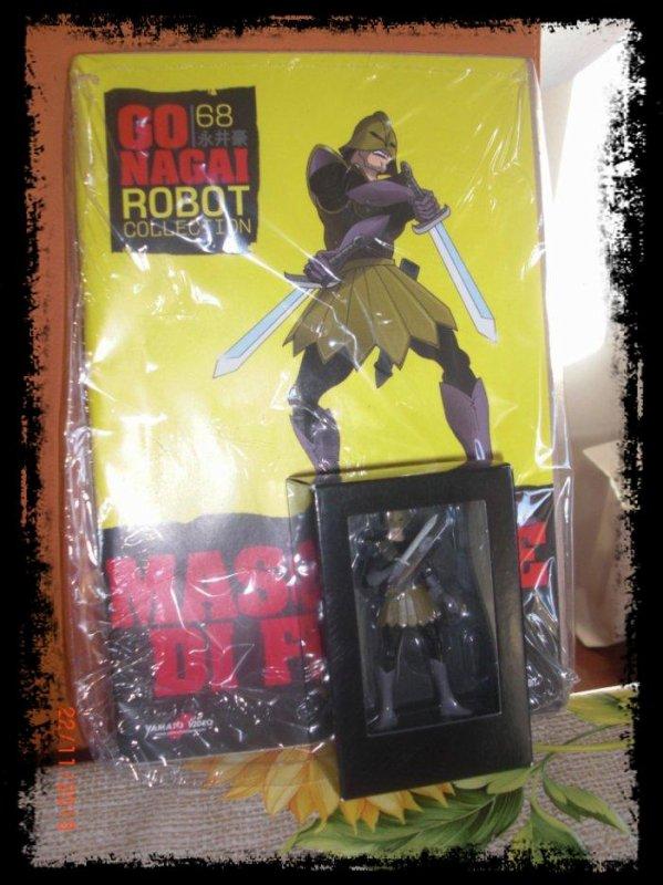 Maschere Di Ferro - Mazinger Z - Go Nagai - Livet avec figurine, No 68