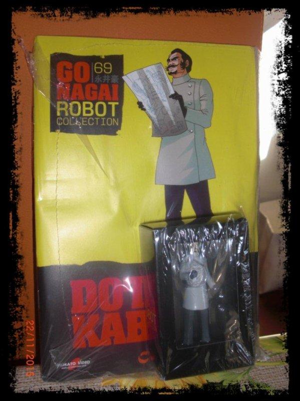 Dottor Kabuto - Great Mazinger - Go Nagai - Livet avec figurine, No 69