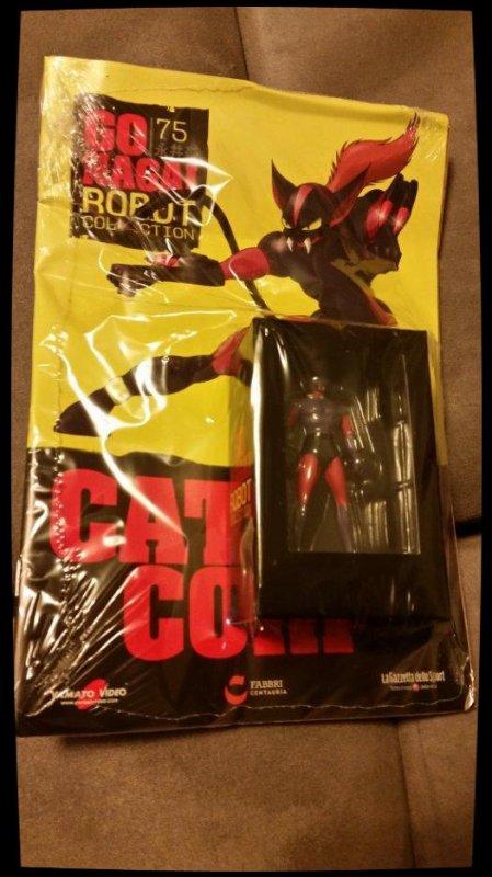 Catloo Corp - Great Mazinger - Go Nagai - Livet avec figurine, No 75