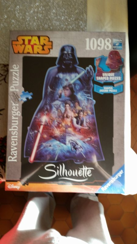 Star Wars Puzzle Silhouette