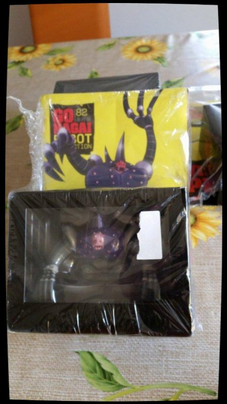 Bui Bui  - Goldorak - Go Nagai - Livet avec figurine, No 82