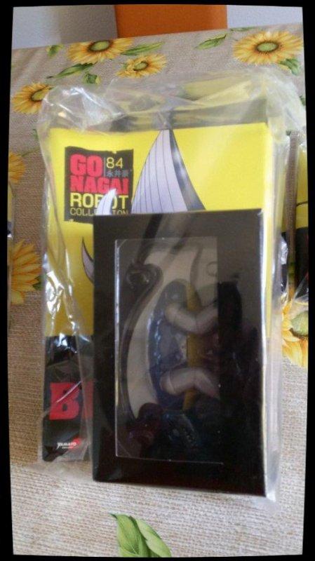 Biranias - Mazinger Z- Go Nagai - Livet avec figurine, No 84