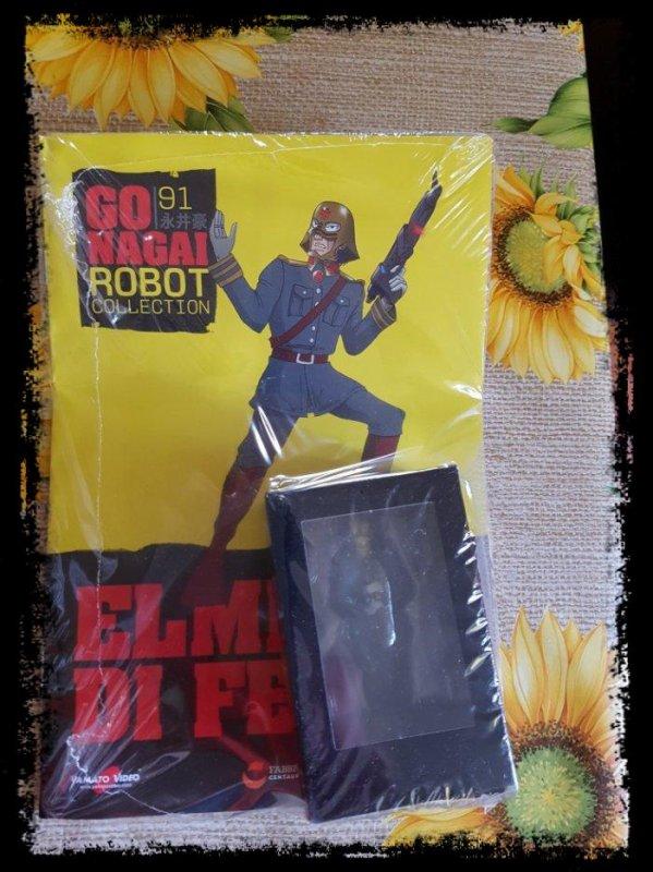 Elmetti di ferro - Mazinger Z - Go Nagai - Livet avec figurine, No 91