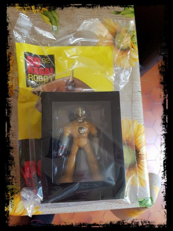 Dukaider - Great Mazinger - Go Nagai - Livet avec figurine, No 92