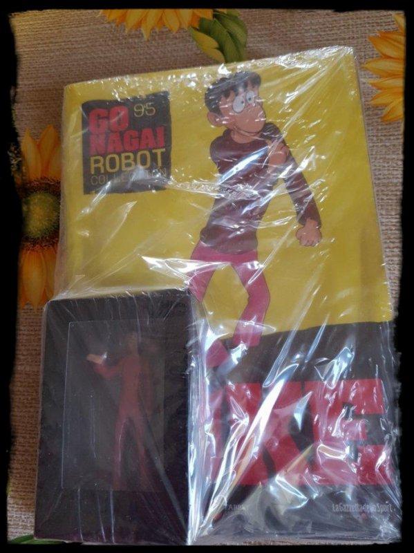 Nuke - Great Mazinger - Go Nagai - Livet avec figurine, No 95