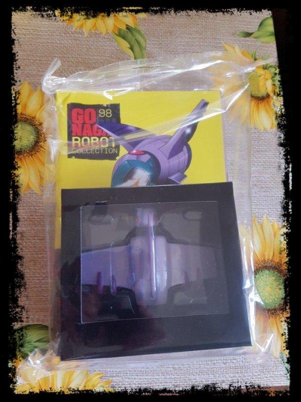 Fortezza Volante Guru - Mazinger Z - Go Nagai - Livet avec figurine, No 98