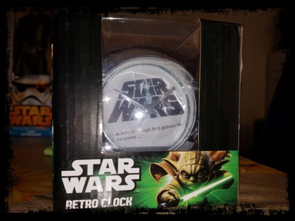 Réveil - Star Wars Retro Clock