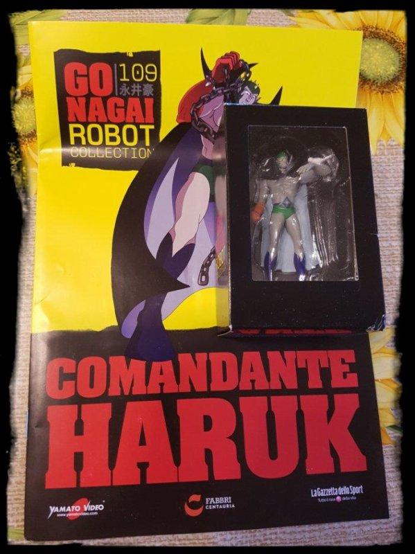 Comandante Haruk - Jeeg - Go Nagai - Livet avec figurine, No 109
