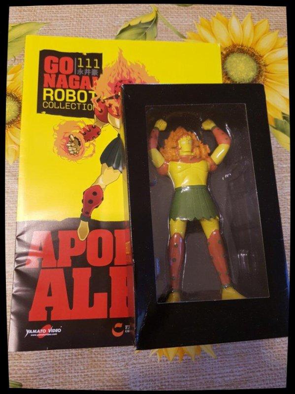 Apollon Alfa 1 - Mazinger Z - Go Nagai - Livet avec figurine, No 111