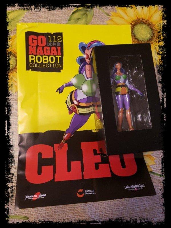 Cleo - Great Mazinger - Go Nagai - Livet avec figurine, No 112