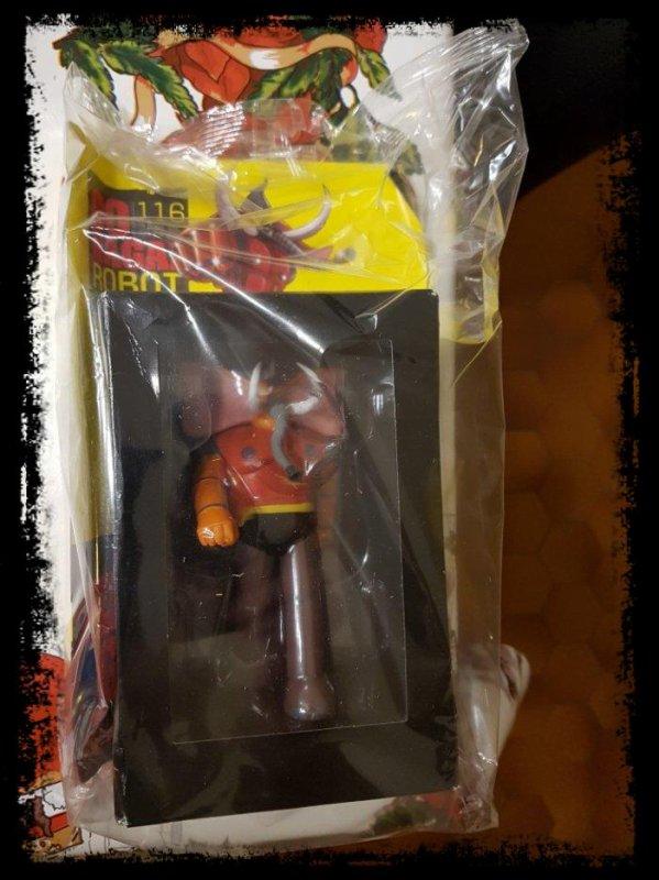 Elephans Gamma 3 - Mazinger Z - Go Nagai - Livet avec figurine, No 116