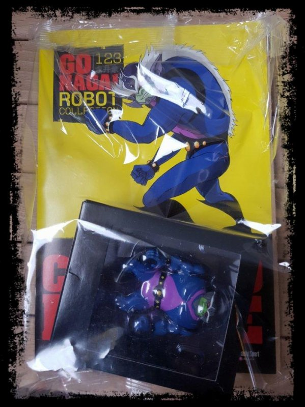 Capitano Beetle - Goldorak - Go Nagai - Livet avec figurine, No 123