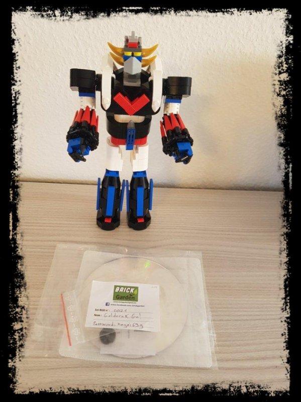 BGD 0021 LEGO GOLDORAK / GRENDIZER / GOLDRAKE GO! [BRICK GARDEN]