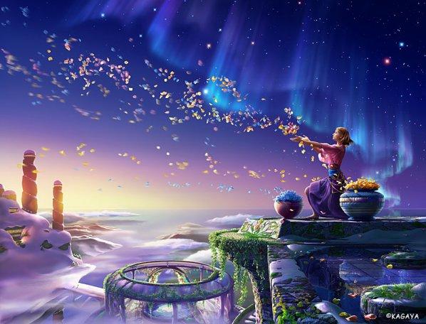 ... où la magie flotte dans l'air ...